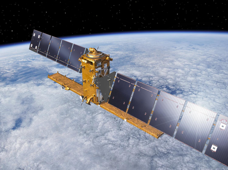 Sentinel-1A Soyuz launch artist's view
